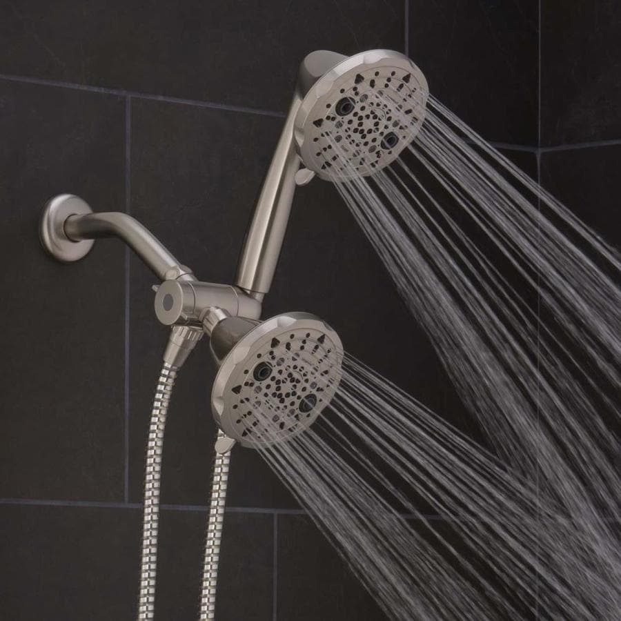 Oxygenics Escape Brushed nickel 48-Spray Shower Head