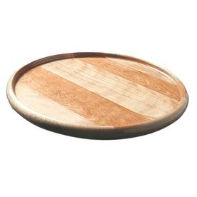 Perfect Catskill Craftsmen 1 Tier Wood Full Circle Tabletop Lazy Susan