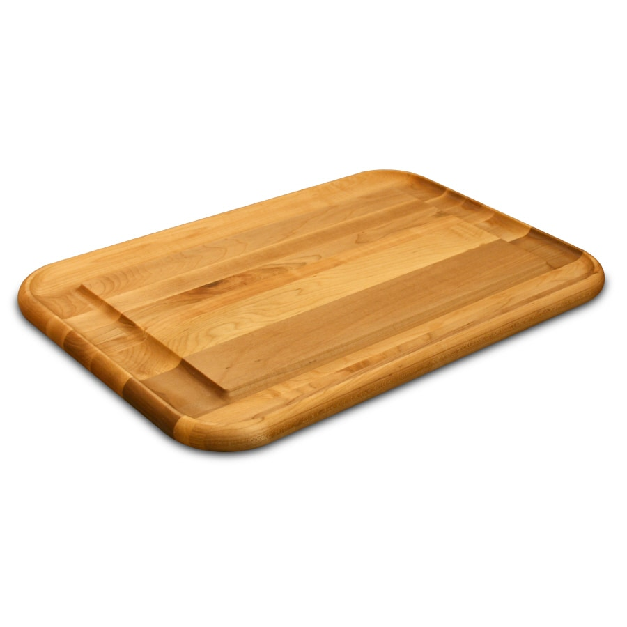 Catskill Craftsmen 24-in L x 16-in W Wood Cutting Board