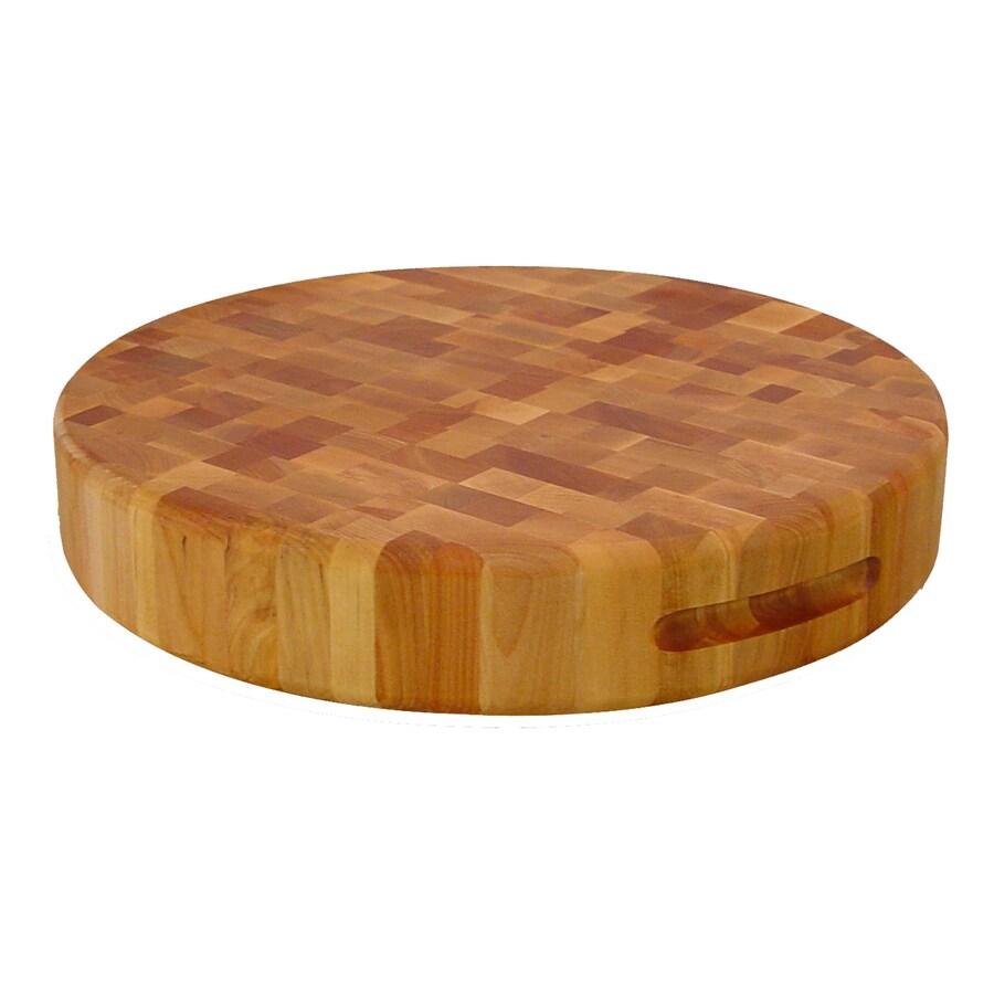 Catskill Craftsmen 17-in L x 17-in W Wood Cutting Board