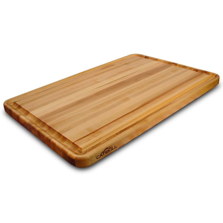 shop catskill craftsmen 30 in l x 20 in w wood cutting board at. Black Bedroom Furniture Sets. Home Design Ideas