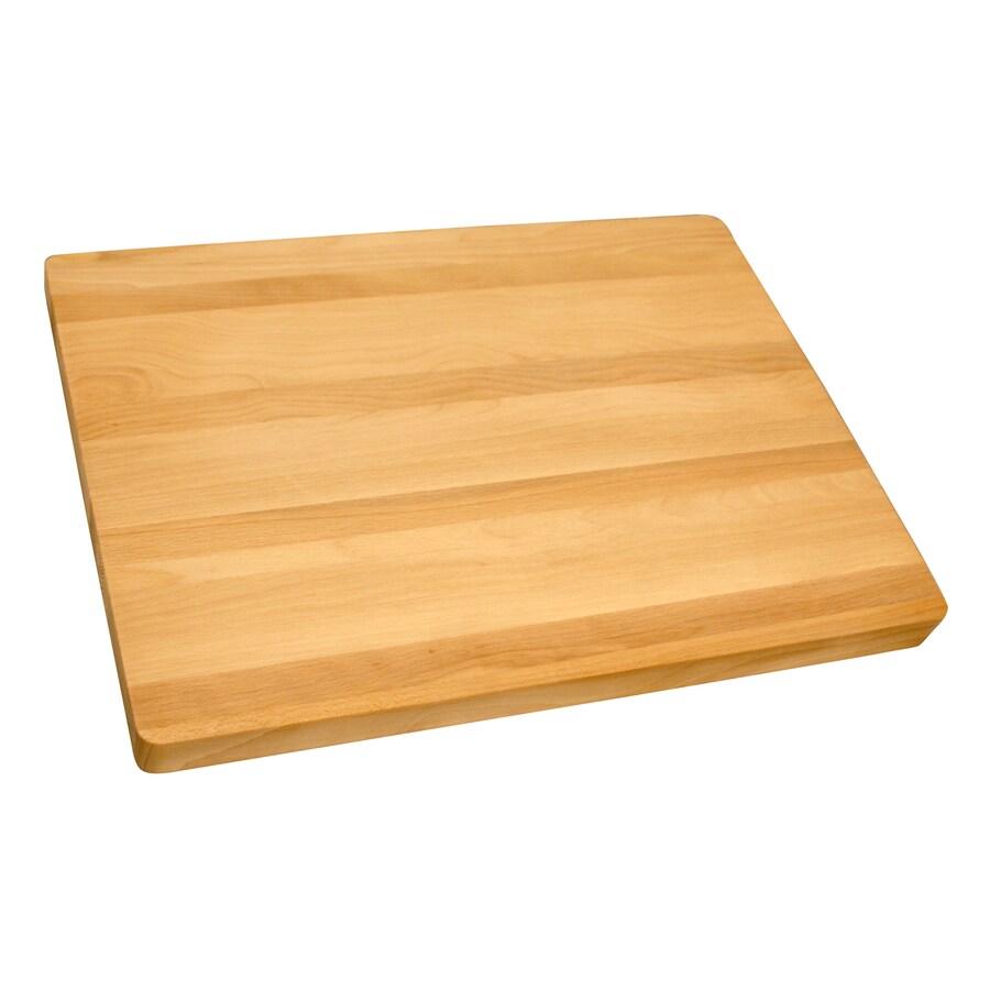 Catskill Craftsmen 19-in L x 15-in W Wood Cutting Board