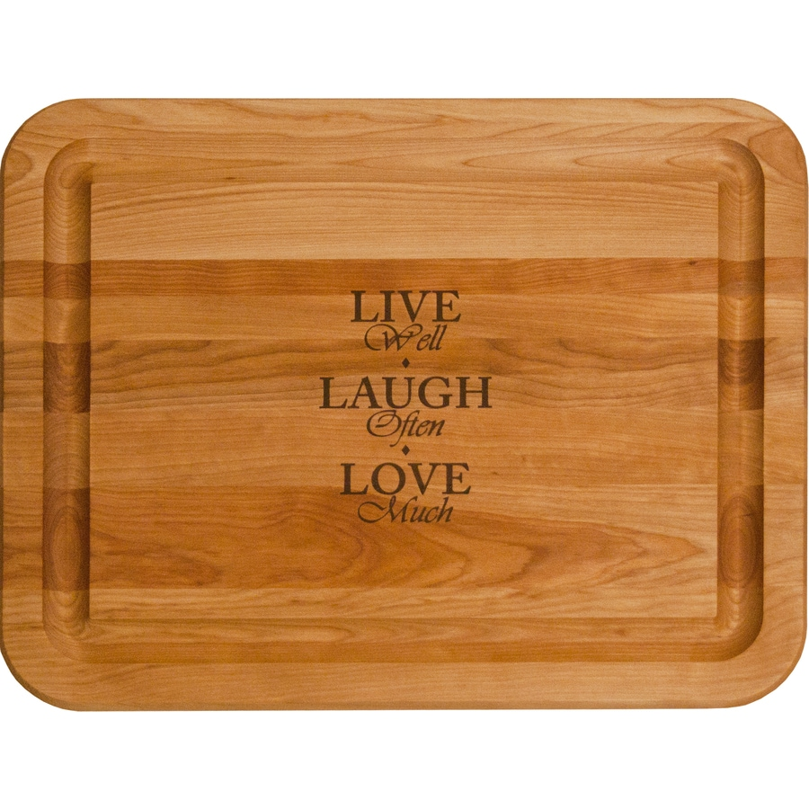 Catskill Craftsmen 19-in L x 15-in W Cutting Board