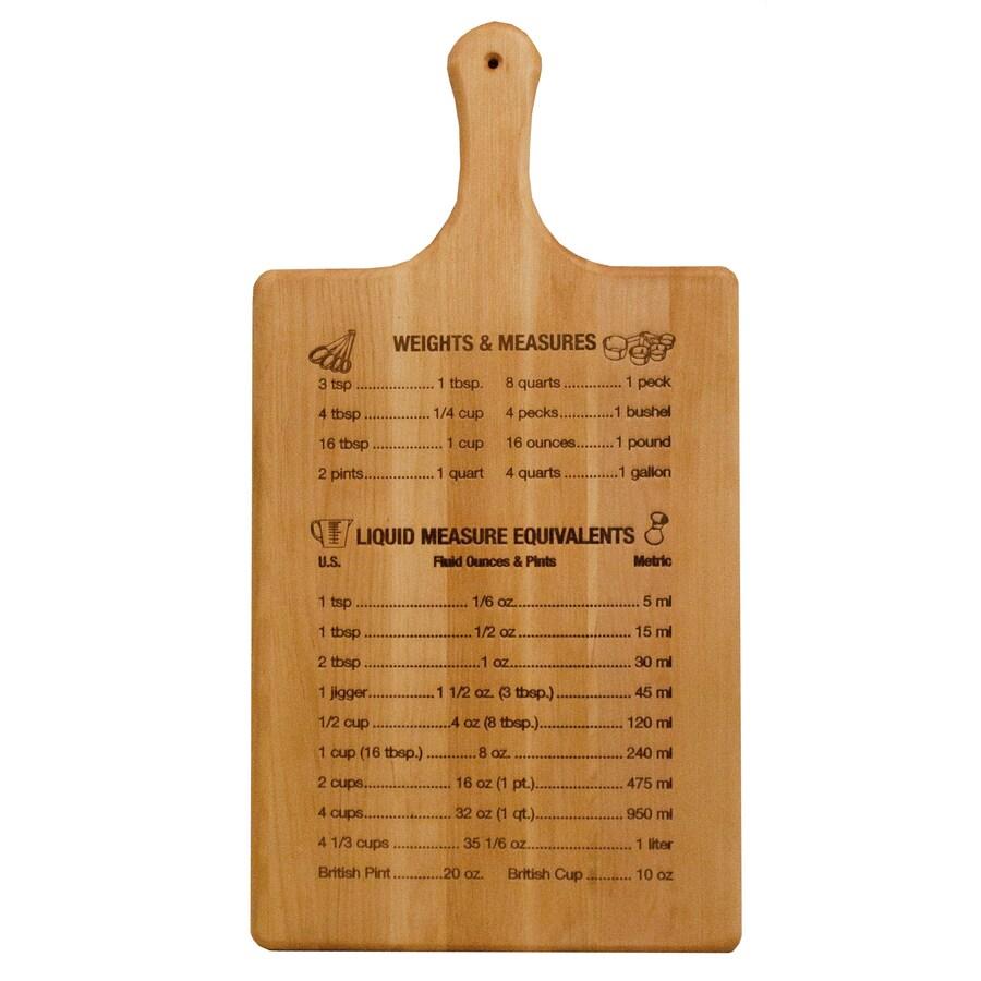 Catskill Craftsmen 11-in L x 21-in W Cutting Board
