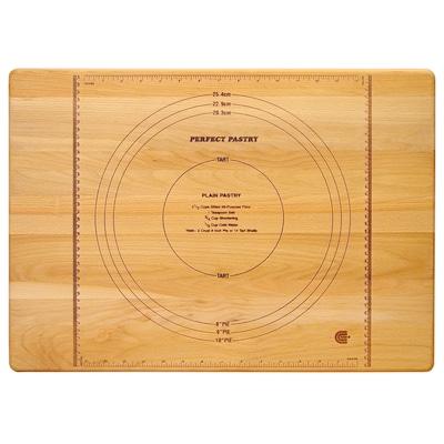 22-in L x 16-in W Wood Cutting Board