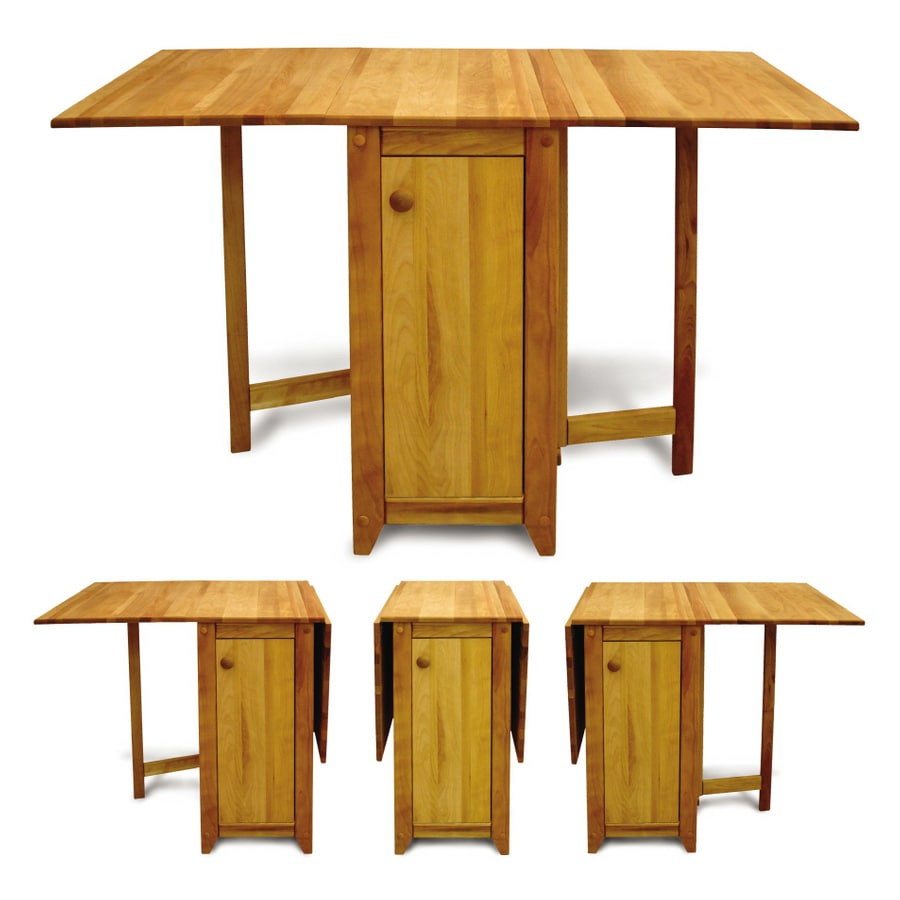 fold away kitchen island shop catskill craftsmen drop leaf kitchen fold away island 3502