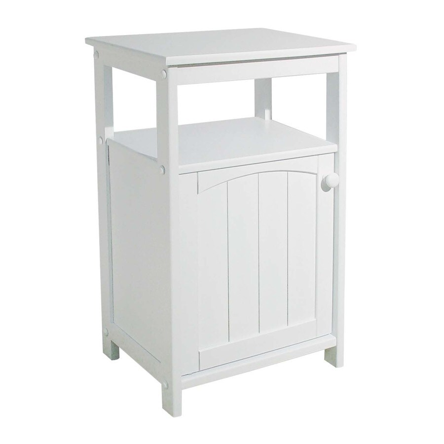 Catskill Craftsmen 18-in L x 13-in W x 28-in H White Kitchen Island