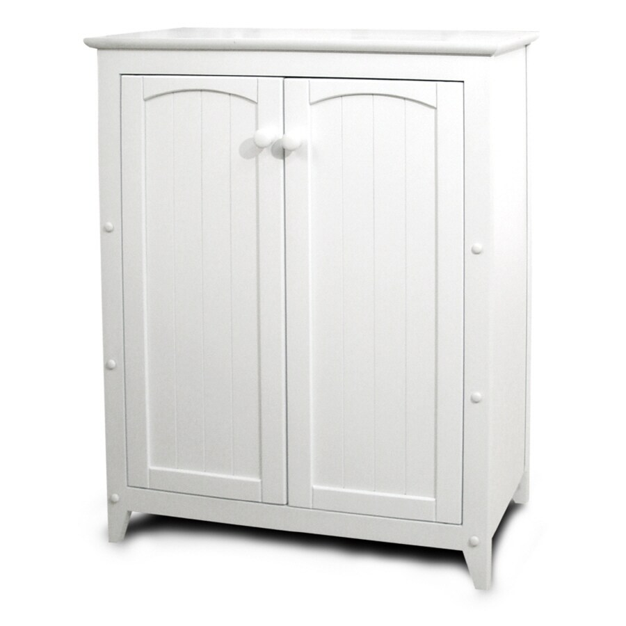 Shop Catskill Craftsmen White 4Shelf Office Cabinet at