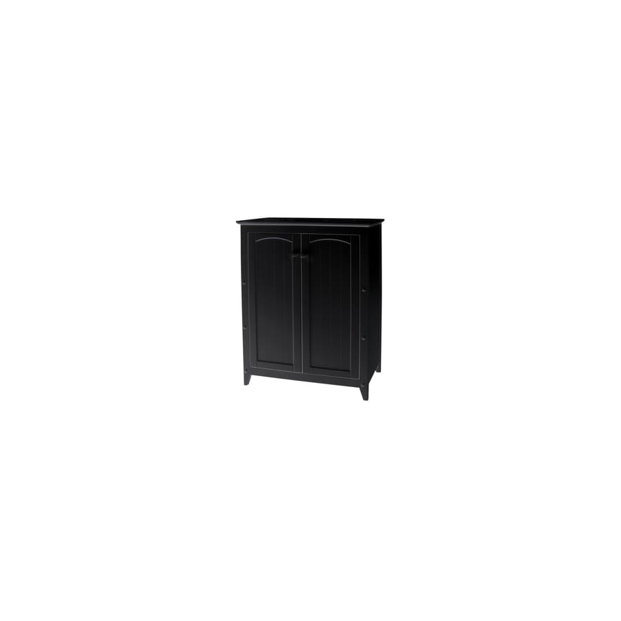 Catskill Craftsmen 28.5-in L x 12.5-in W x 36-in H Black Kitchen Island