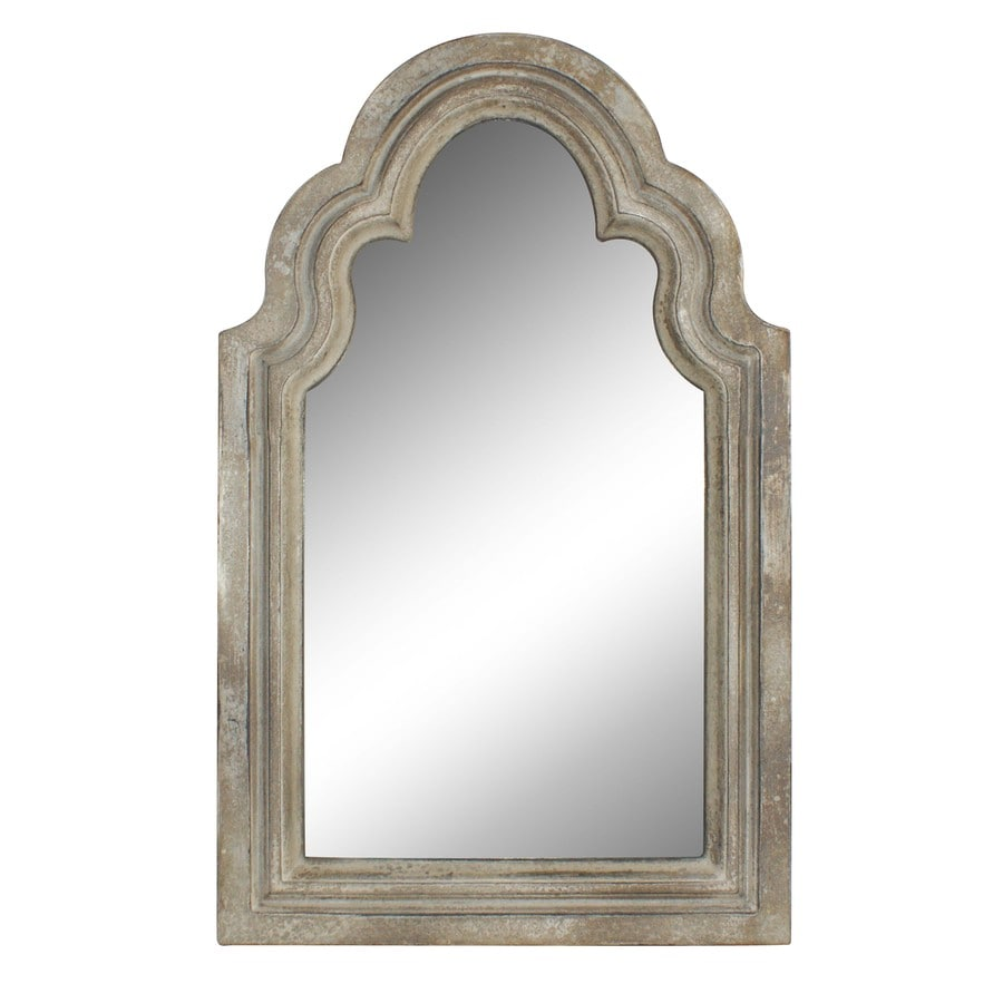 Superieur Style Selections Off White Arch Framed Wall Mirror