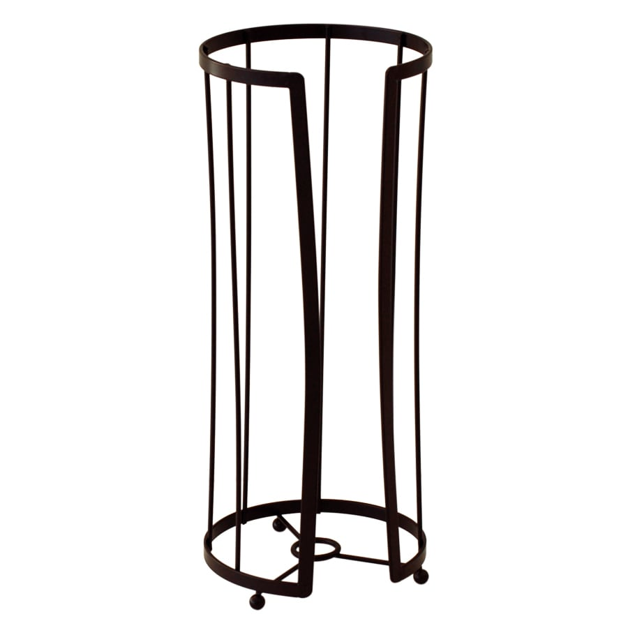 Style Selections Oil-Rubbed Bronze Freestanding Floor Replacement Roller Toilet Paper Holder