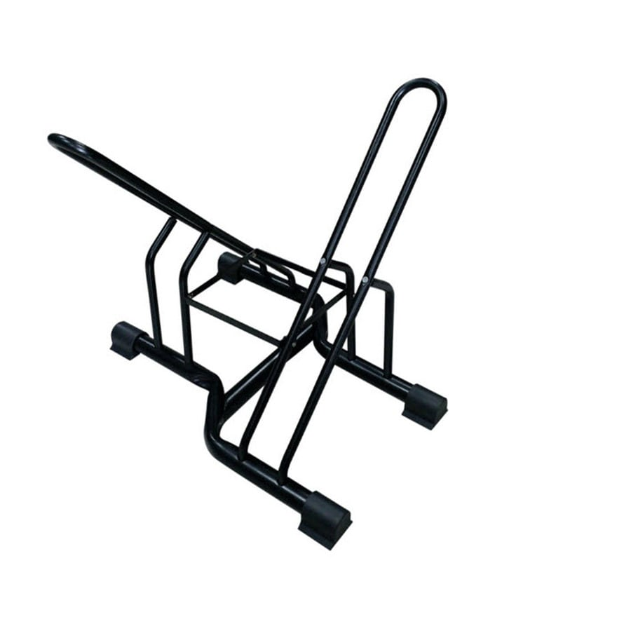 Blue Hawk Garage Storage 2-Bike Black Steel Bike Stand