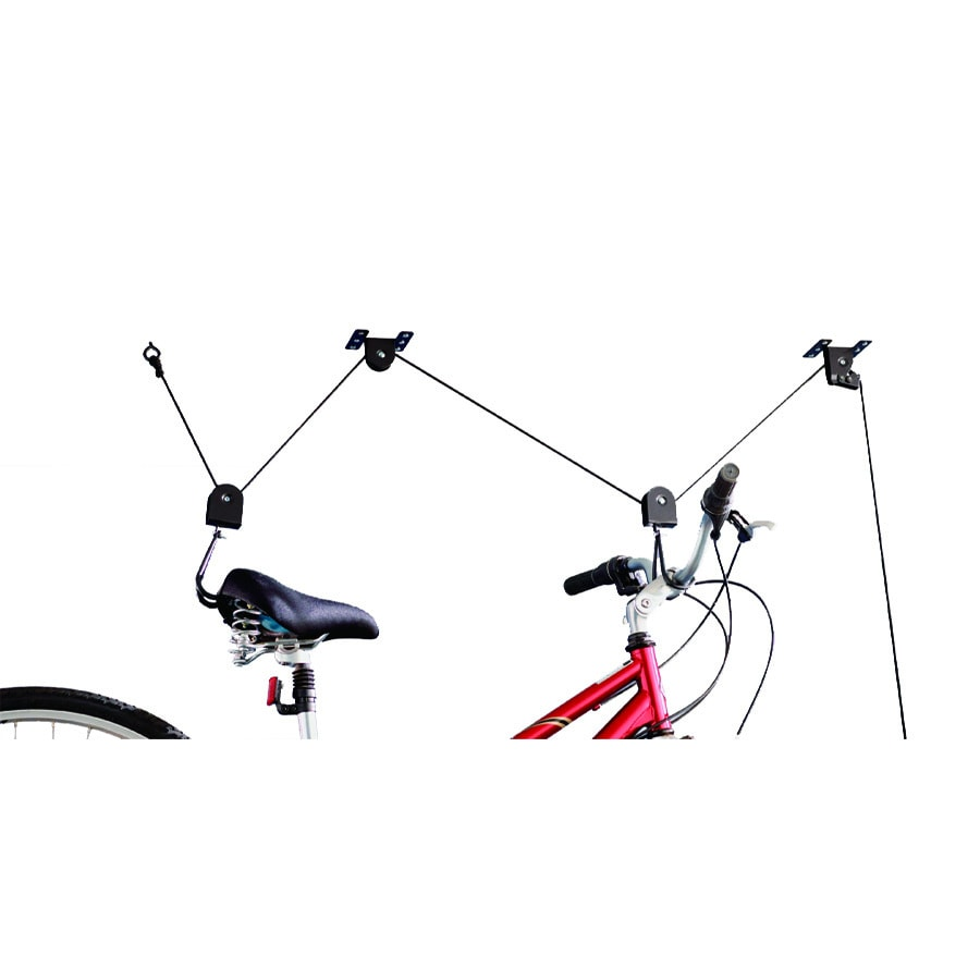 Blue Hawk Garage Storage 1-Bike Black Steel Bike Hoist