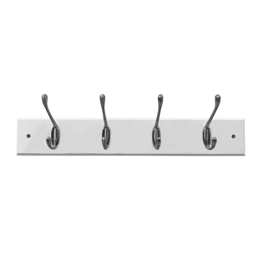 Style Selections White Garment Hook At Lowes Com