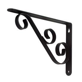 style selections steel 90600 in d x 65000 in l x 09800 in - Decorative Metal Shelf Brackets