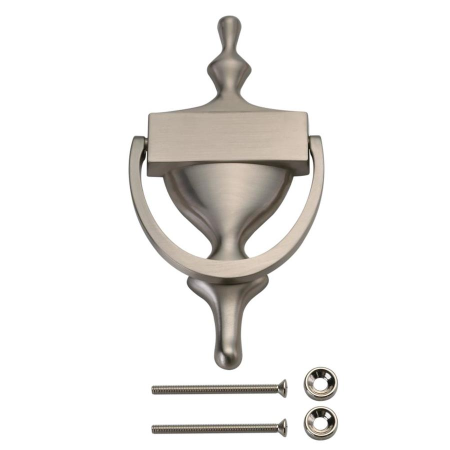 Gatehouse 7 In Satin Nickel Door Knocker At Lowes Com