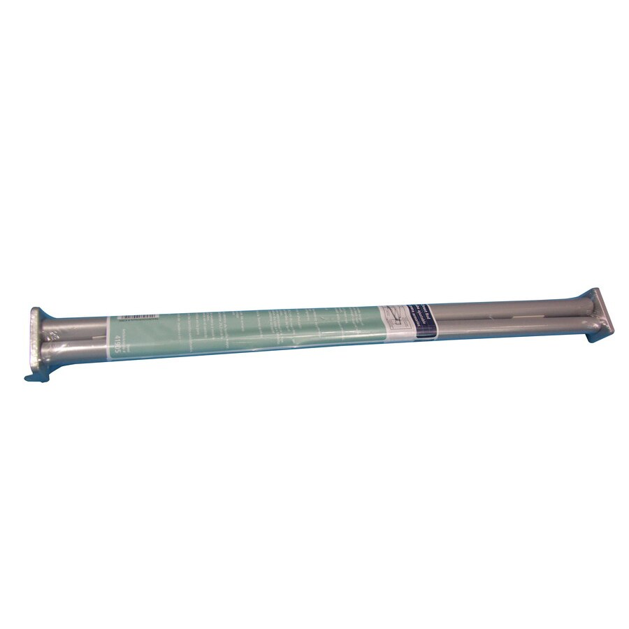 Real Organized 6-ft x 2.75-in x 2.75-in Extendable Metal Closet Rod with Hardware
