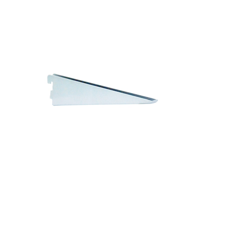 "Blue Hawk 14-1/4"" White Double Track Bracket"