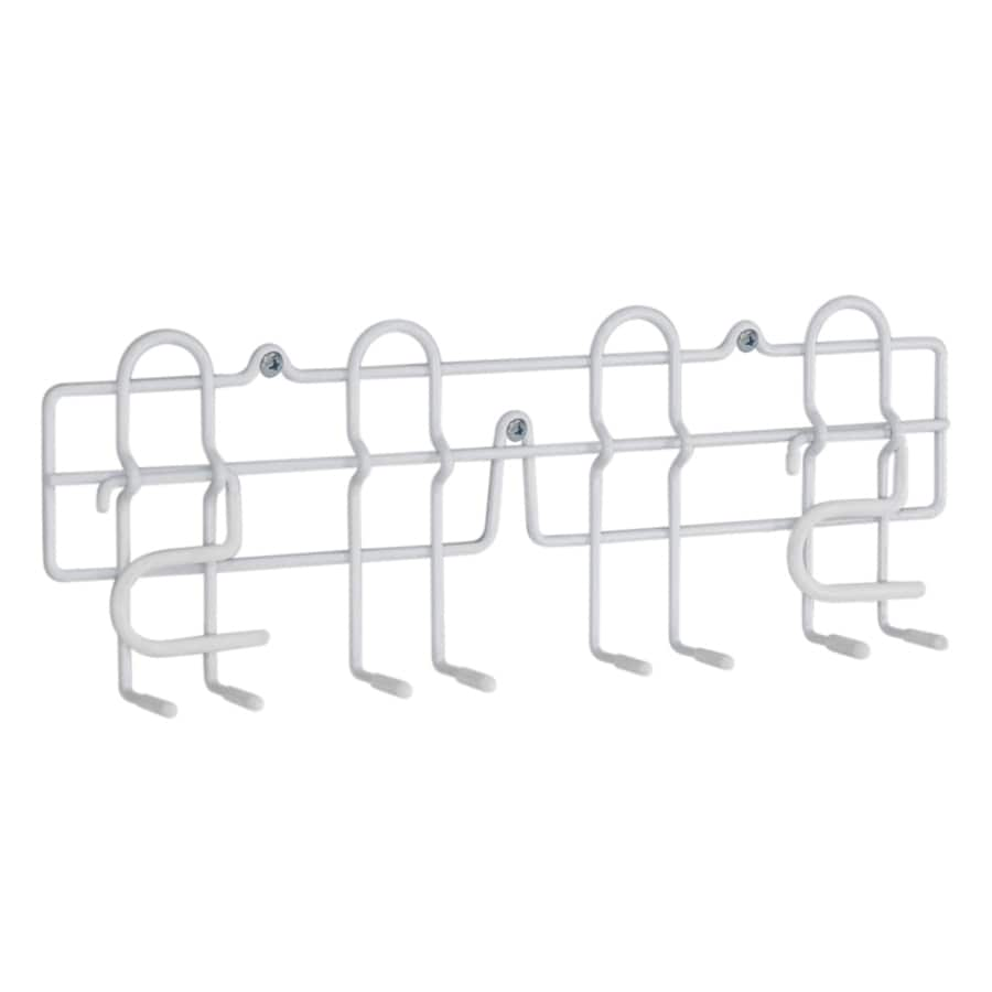 Style Selections Coated Wire Mop and Broom Holder