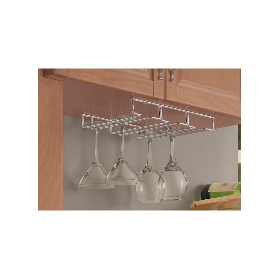 Real Organized RO Chrome Stemware Holder