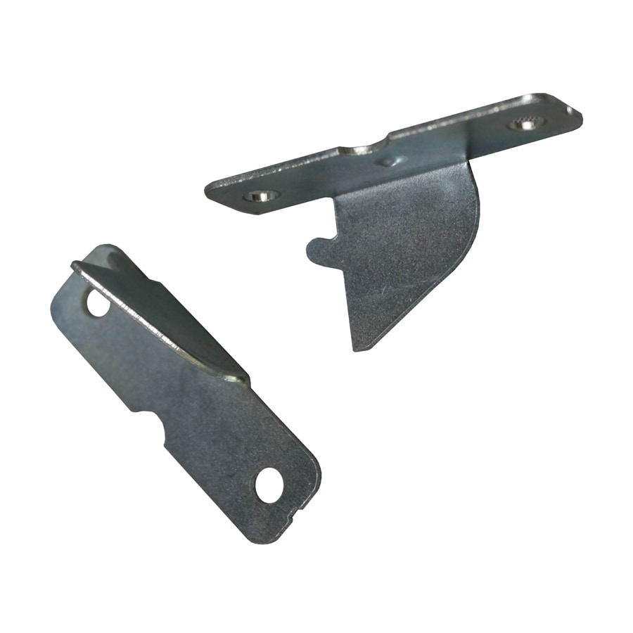Project Source 2-Pack Zinc Steel Single Curtain Rod Brackets