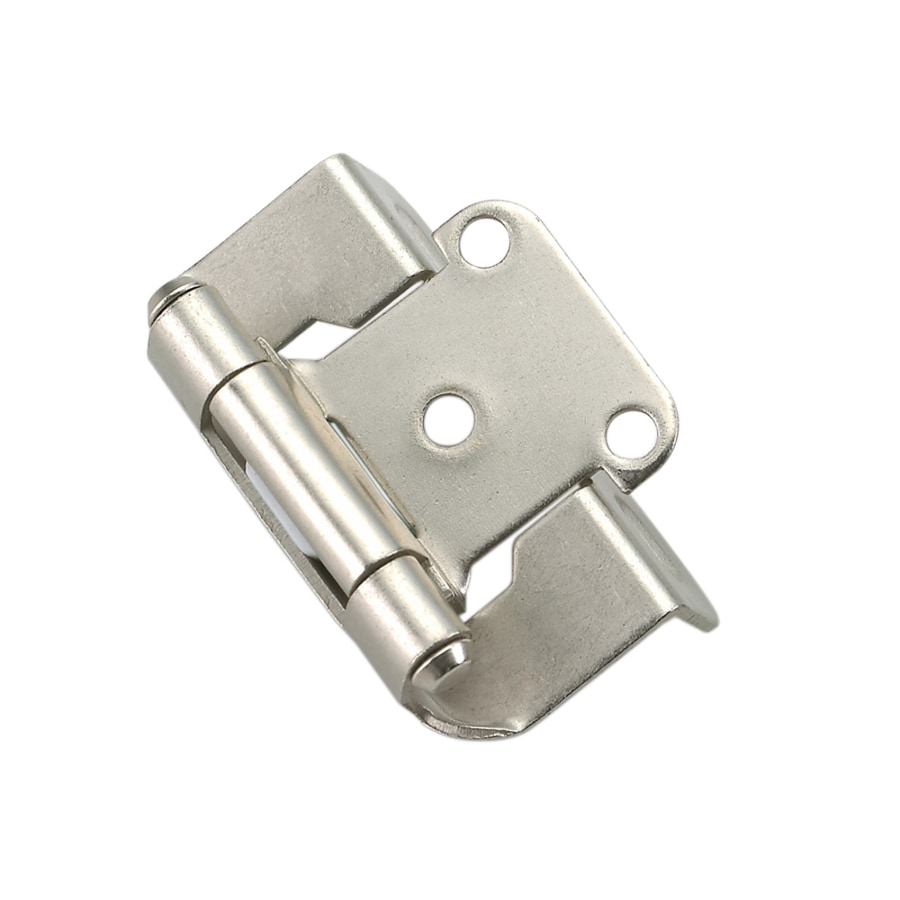 Interior Cabinet Hardware Lowes shop cabinet hinges at lowes com style selections 14 in x 1 12 self