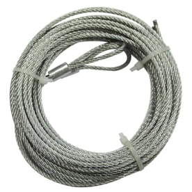 blue hawk 15748in gray 14gauge steel garage door spring cable