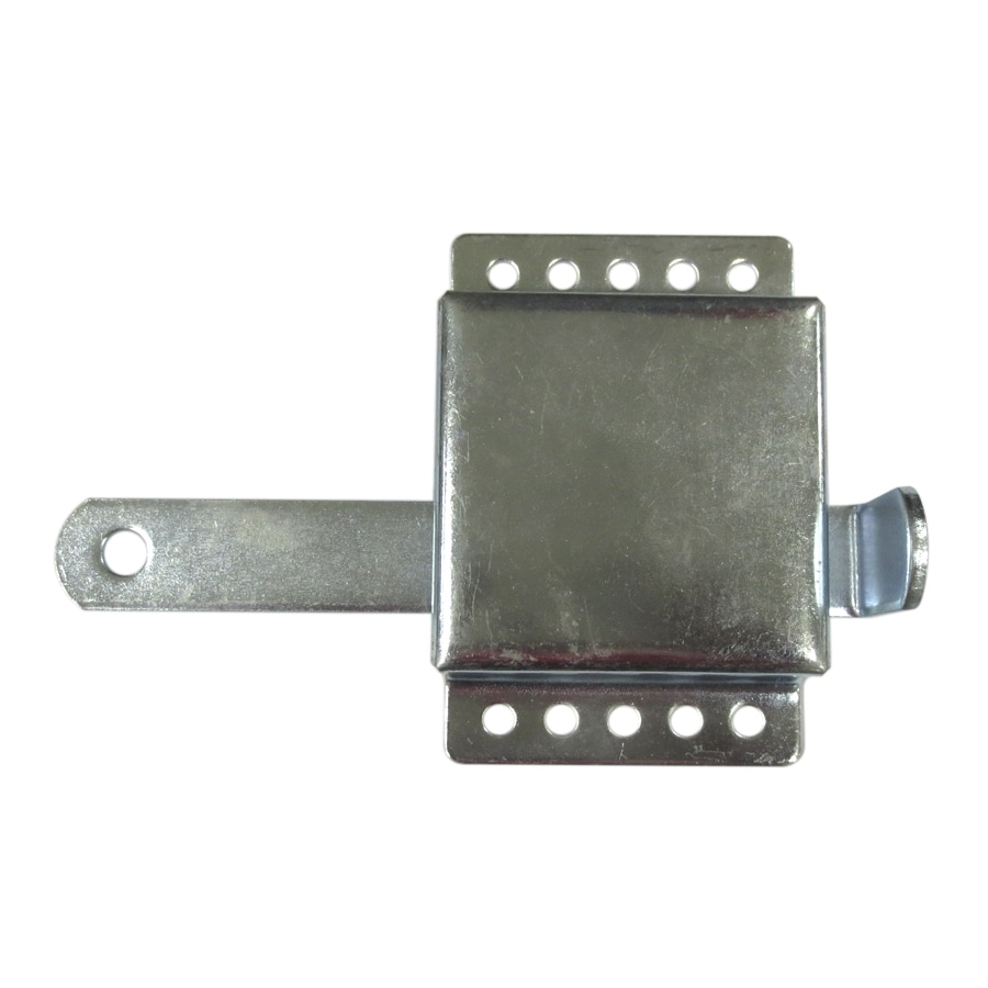 Shop garage door hardware at lowes blue hawk 732 in silver 11 gauge steel garage door bolt lock rubansaba