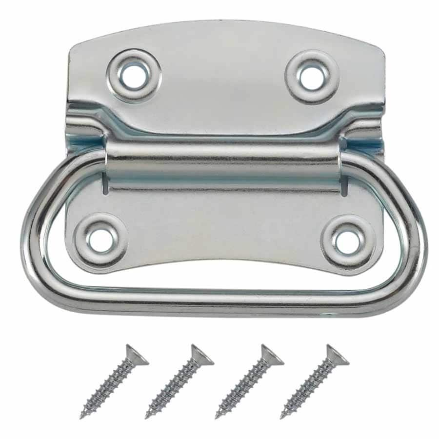 Shop Gatehouse Gate Pull 3 1 3 In Zinc Gate Handle At