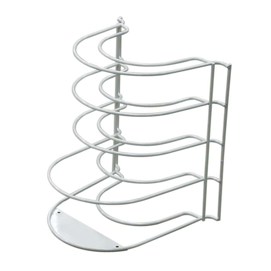 Style Selections Coated Wire Plate Rack