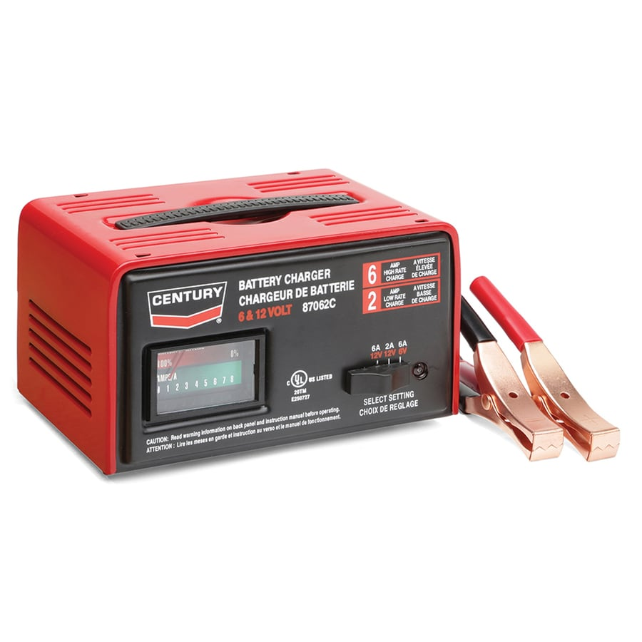 Shop Century 12 Volt Battery Charger At Lowes Com