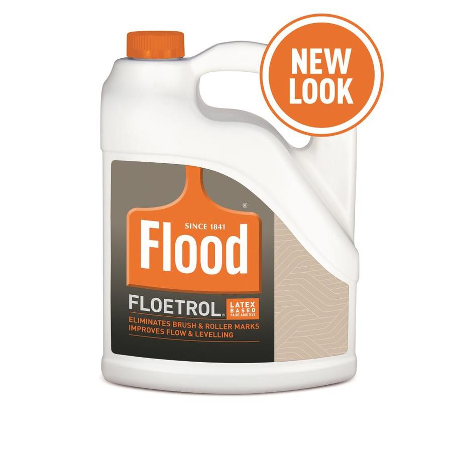 Flood Floetrol Interior Exterior Paint Conditioner Actual Net Contents 128 Fluid Oz In The Paint Conditioners Department At Lowes Com