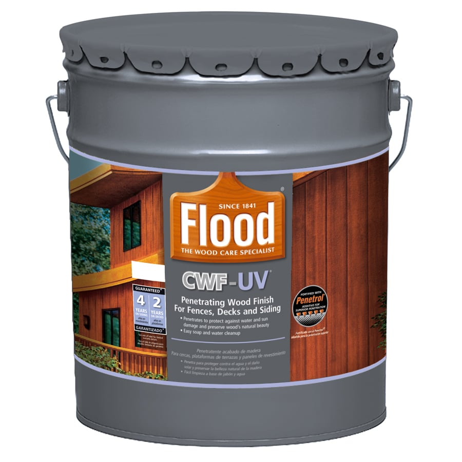 Flood CWF-UV Clear Exterior Stain (Actual Net Contents: 640-fl oz)