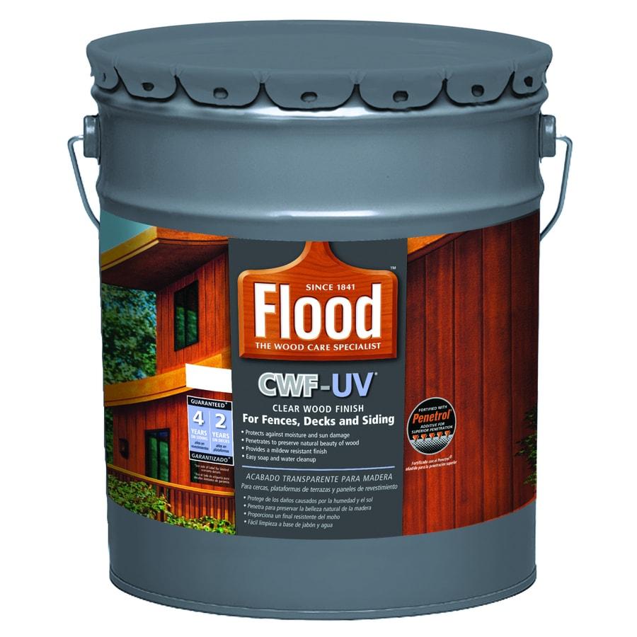 Flood CWF-UV Cedar Transparent Exterior Stain (Actual Net Contents: 640 Fluid Ounce(S))