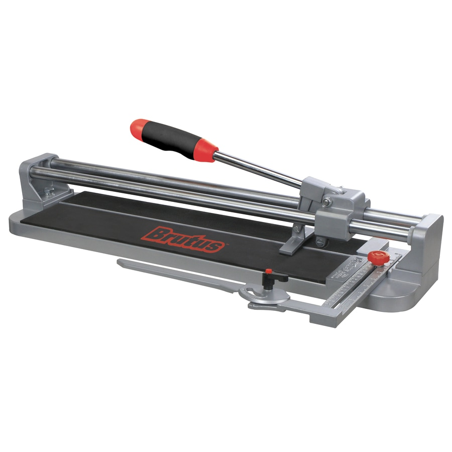 Ceramic Tile Cutter ~ Shop brutus in professional porcelain tile cutter at