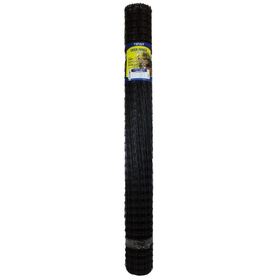 Tenax C Flex Black Polypropylene Extruded Mesh (Common: 100-ft x 7.5-ft; Actual: 100-ft x 7.5-ft)