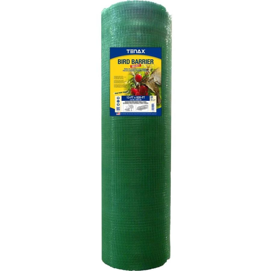 Tenax (Actual: 820-ft x 13-ft) Ornex SM Green Polypropylene Extruded Mesh Rolled Fencing