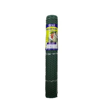 Tenax (Actual: 25-ft x 3-ft) Poultry Green HDPE Extruded