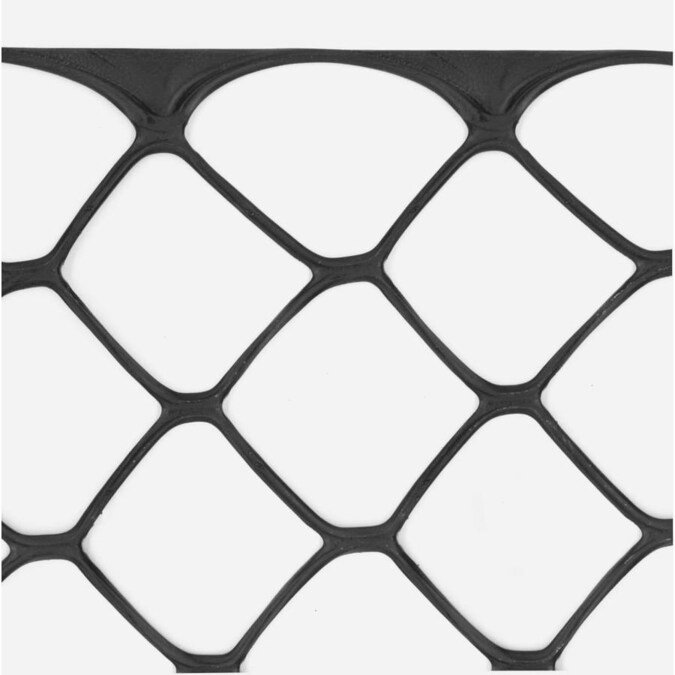 Tenax 4-ft H x 50-ft L Construction HDPE Safety Fence in ...
