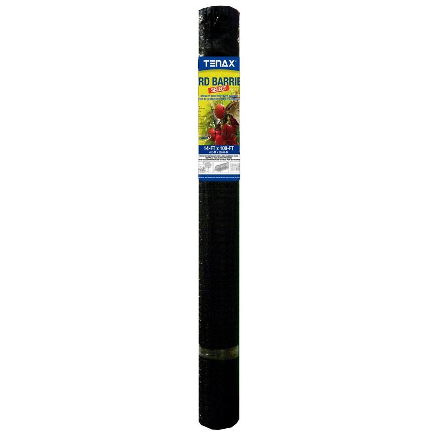 Tenax Ornex LM Black Polypropylene Extruded Mesh (Common: 100-ft x 14-ft; Actual: 100-ft x 14-ft)