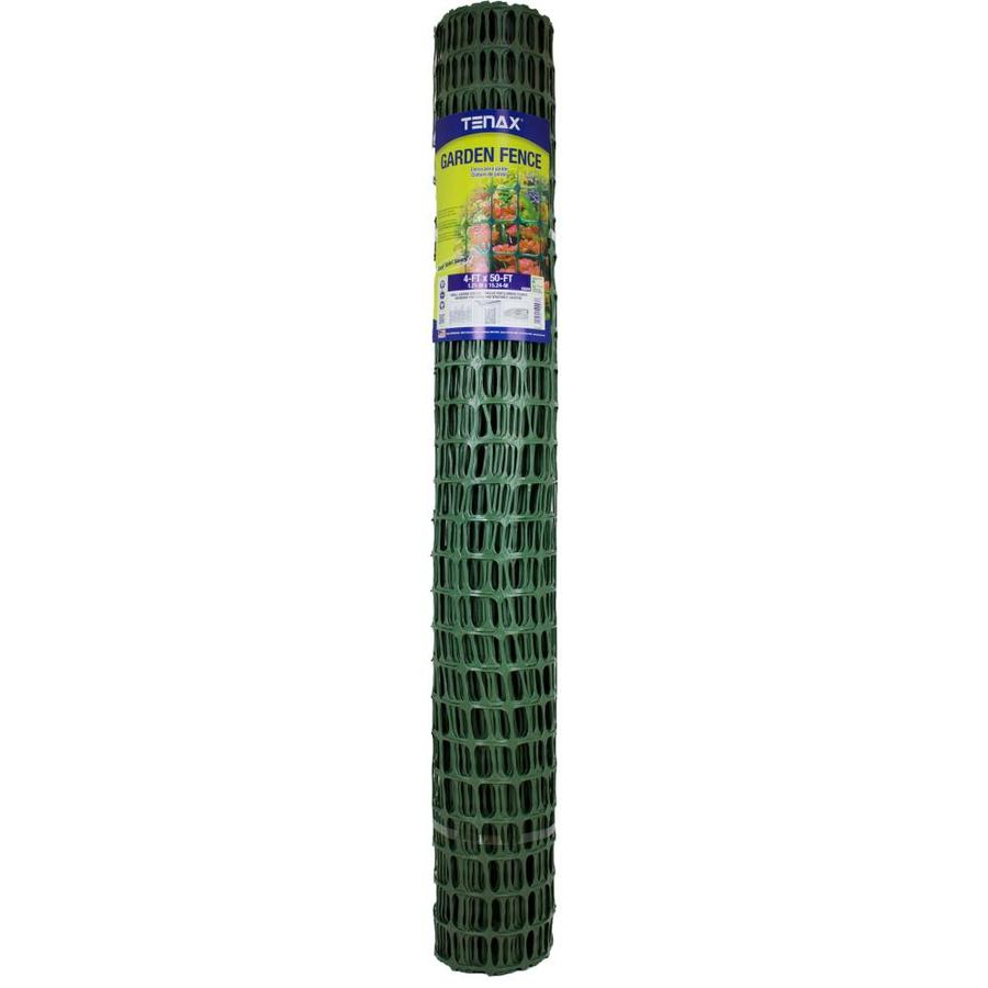 Blue Hawk Garden Green HDPE Extruded Mesh (Common: 50-ft x 4-ft; Actual: 50-ft x 4-ft)