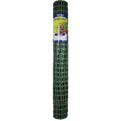 Tenax Actual 50 Ft X 4 Ft Green Hdpe Extruded Mesh Rolled