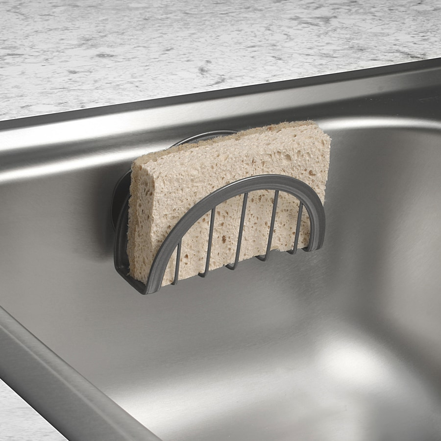 Style Selections Metal Suction Sink Caddy In The Sink Caddies Department At Lowes Com