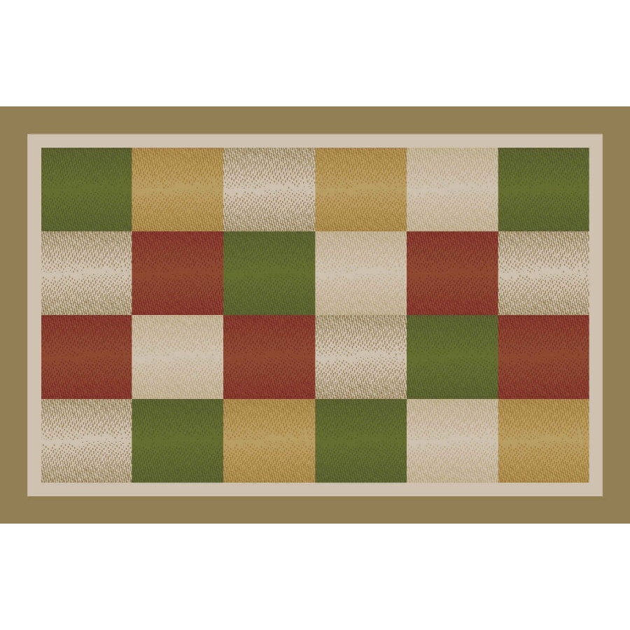 Maples Industries 20 X 34 Almond Metro Accent Rug