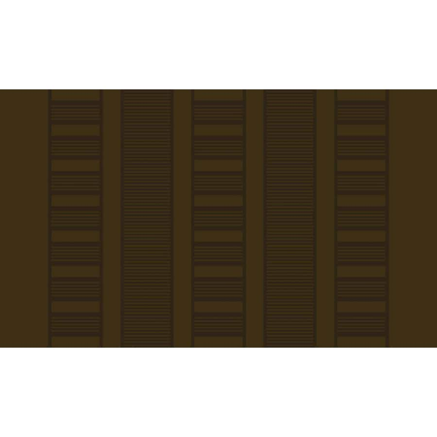 Style Selections Mocha Rectangular Indoor Tufted Throw Rug (Common: 2 x 3; Actual: 20-in W x 34-in L)