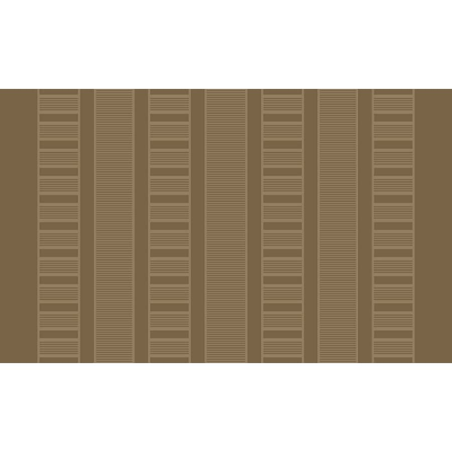 Style Selections Taupe Rectangular Indoor Tufted Throw Rug (Common: 3 x 4; Actual: 2.5-ft W x 3.83-ft L)