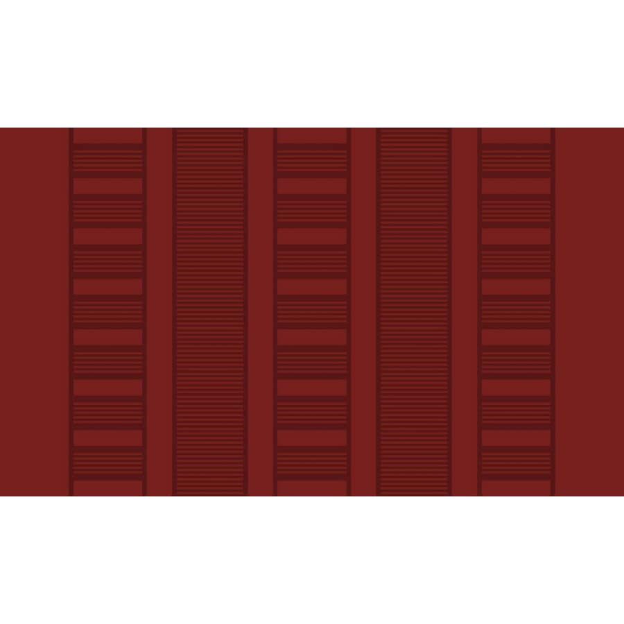 Style Selections Garnet Rectangular Indoor Tufted Throw Rug (Common: 2 x 3; Actual: 1.67-ft W x 2.83-ft L)