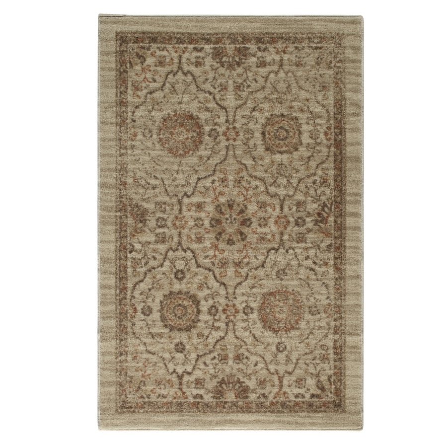 STAINMASTER Rectangular Indoor Tufted Throw Rug (Common: 2 x 4; Actual: 30-in W x 48-in L)