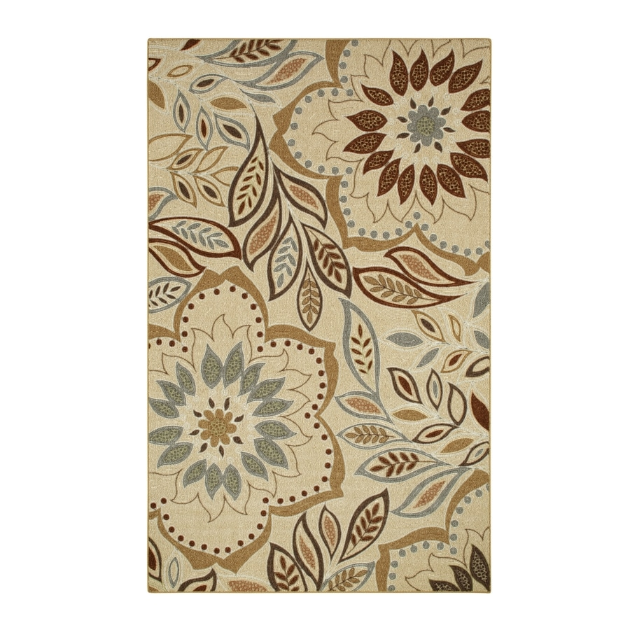 Style Selections Beige Rectangular Indoor Tufted Area Rug Common 8 X 10 Actual