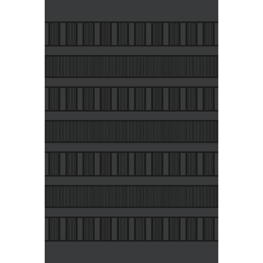 Style Selections Grey Rectangular Indoor Tufted Throw Rug (Common: 2 x 3; Actual: 1.67-ft W x 2.83-ft L)